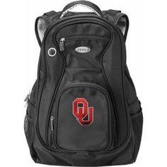 Ncaa Laptop Travel Backpack, Black