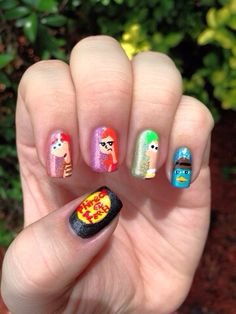 Phineas and ferb nails