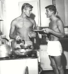 Hot Dogs and Cake- Tab Hunter & Roddy McDowall
