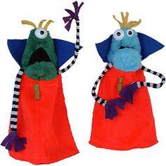 Alien puppets