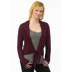 Mom will feel wrapped in your love when you get her this Fair Trade Certified Wrap Top from Maggie's Organics.