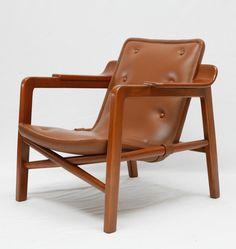Edvard and Tove Kindt-Larsen, The Fireplace Chair for Gustav Bertelsen, 1939.
