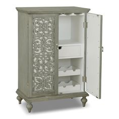 Stakmore Company, Inc. Shaker Mission Style Expanding Cabinet ...