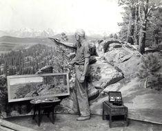 James Perry Wilson Painting Jeffrey Pine