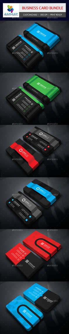 3 in 1 Business Card Bundle Templates #design Download: http://graphicriver.net/item/3-in-1-business-card-bundle-/12211548?ref=ksioks