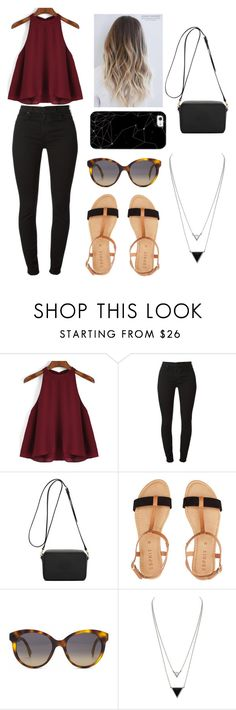 """""""Untitled #292"""" by hakay ❤ liked on Polyvore featuring Mulberry, Fendi, House of Harlow 1960 and Casetify"""