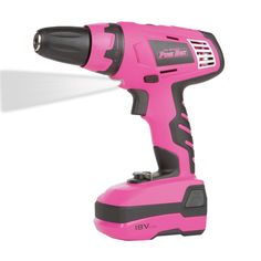 The Original Pink Box Cordless Power Drill, Cordless Drill Reviews, Purple Timberland Boots, White Desk Office, Bling Wallpaper, Chuck Box, Drill Driver, Everything Pink, Discount Furniture