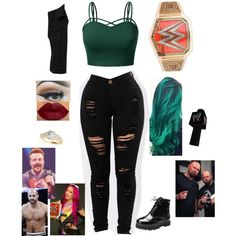 Designer Clothes, Shoes & Bags for Women Wrestling Outfits, Wwe Outfits, Dress Outfits, Casual Outfits, Dresses, My Outfit, Outfit Ideas, Wwe Divas, Inspired Outfits