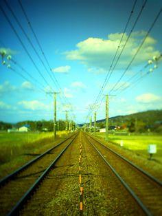 NeinGrenze 5000T - 春へと続く・・・ -  線路  - Camera Talk -