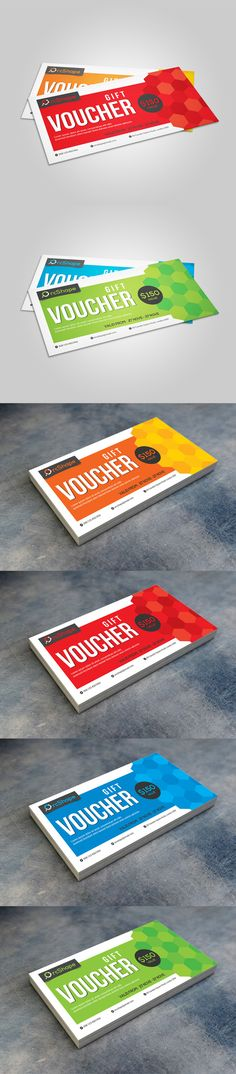Gift Voucher Template PSD #design Download    graphicriver - gift voucher template