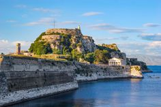 Discover Corfu Old Fortress: Information and photos of Old Fortress in Town, Corfu. Free Travel, Us Travel, Corfu Holidays, Greece Cruise, Corfu Island, Corfu Greece, Cultural Events, Fortification, I Want To Travel