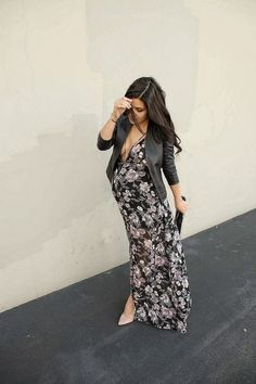awesome The HONEYBEE: Maxi Style by http://www.globalfashionista.xyz/pregnancy-fashion/the-honeybee-maxi-style/