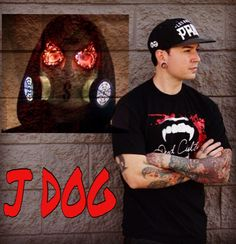 J Dog Hollywood Undead Unmasked Hollywood Undead &...