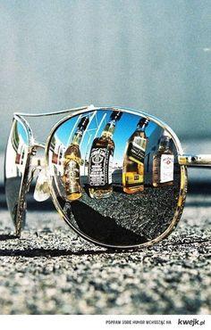 gafas & Jack Daniels