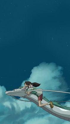 Looking for the best unique Studio Ghibli gifts on Etsy? The best Ghibli gifts inspired by our favorite Ghibli movies & Hayao Miyazaki. Studio Ghibli Films, Art Studio Ghibli, Totoro, Spirited Away Wallpaper, Studio Ghibli Background, Chihiro Y Haku, Studio Ghibli Spirited Away, Spirited Away Art, Spirited Away Dragon
