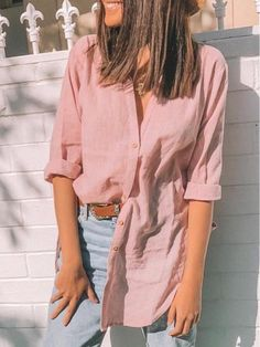 Casual Shirts, Casual Outfits, Casual Xl, Collar Shirts, Shirt Blouses, Shirt Outfit, Shirt Sleeves, Blouses For Women, Shirts Online