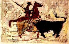 Nissan Engel El Picador 1961 Original Lithograph https://www.etsy.com/listing/587028264/nissan-engel-el-picador-1961-original?utm_campaign=crowdfire&utm_content=crowdfire&utm_medium=social&utm_source=pinterest #art #elpicador #nissanengel #cubism #artist #Israeliartist #artwork #newyork #painting #drawing #thechopper