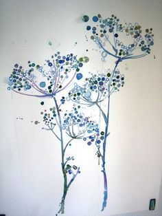 watercolor pinned from etsy.com.  I love Queen Anne's Lace. by tiquis-miquis