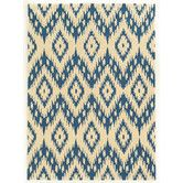 Found it at Wayfair - Trio Blue/Ivory Rug
