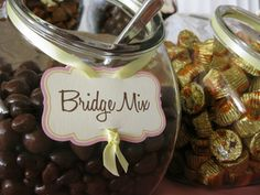 How to for DIY Wedding Candy Bar