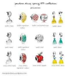 Pandora Jewelry OFF!> pandora disney spring 2015 I would love ALL the tiaras snow white's apple and Bell's dress. Pandora Charms Disney, Pandora Beads, Pandora Bracelet Charms, Pandora Rings, Pandora Jewelry, Charm Jewelry, Disney Charm Bracelet, Disney Jewelry, Charm Bracelets