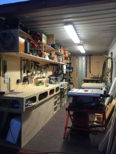 Shipping container workshop #containerhome #shippingcontainer