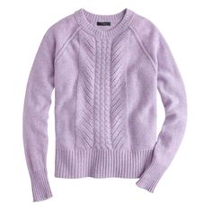 Wool pointelle cable sweater : Pullovers | J.Crew