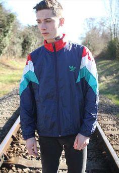 Vintage Retro Adidas Jacket