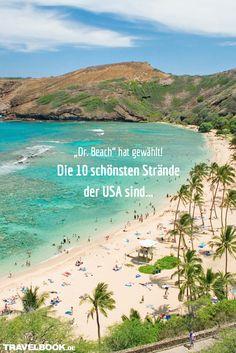 """Seit mehr als 25 Jahren bewertet Dr. Stephen Leatherman, auch bekannt als """"Dr. Beach"""", Strände in den USA und erstellt jährlich seine viel beachtete Top 10. TRAVELBOOK zeigt, welche Strände es dieses Jahr in die Hitliste geschafft haben."""