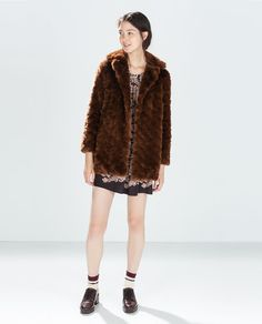 Image 1 of FUR COAT from Zara
