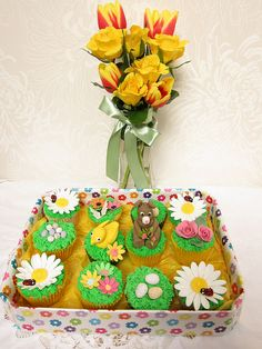 Easter cup-cakes