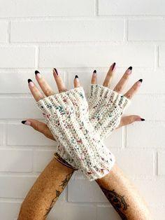 Textured Rib Wrist Warmers | Knit Pattern by Vickie Howell