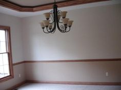 Oak Chair Rail Pink Cover Decorations 620 Best Images In 2019 Crown Molding Moldings Image Result For Update Dining Room With Chairrail