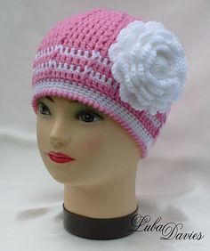 Ravelry: Easy as a Pie hat pattern by Crochet- atelier