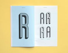 awesome specimen book for Blanch typeface