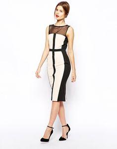 Image 4 ofASOS Ergonomic Pencil Dress