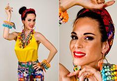 carnaval / carmen miranda / make up