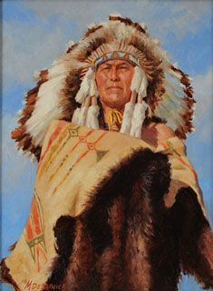 Chieftain's Ceremonial Robe by Mike Desatnick kp Native American Pictures, Native American Artwork, Native American Indians, American Artists, Indian Paintings, Oil Paintings, Southwest Art, Native Art, Western Art