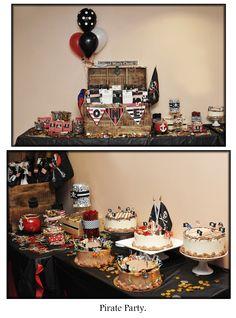 Pirate Birthday Party / First Birthday / Children