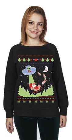 Alien Invasion - Ugly Christmas Sweater