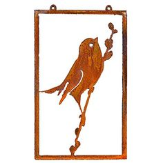 Elegant Garden Design Bird on Willow Wall Art Rusty Patina >>> You can find out more details at the link of the image.(It is Amazon affiliate link) #BirdsIdeas Bird Perch, Wall Plaques, Cherub, Terracotta, Lawn And Garden, Outdoor Gardens, Garden Design, Garden Sculpture, Moose Art