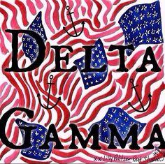 DG Delta Gamma USA Murica DeeGee