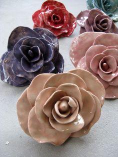 Ceramic roses!!