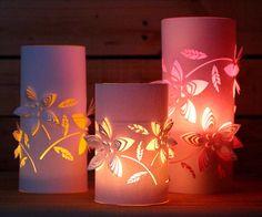 Dimensional Paper Lanterns 2 and free .studio cut file