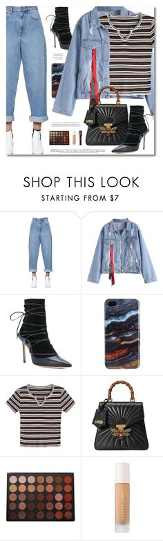 """Campus Chic"" by defivirda ❤ liked on Polyvore featuring Étoile Isabel Marant, Dsquared2, Gucci, Morphe, Puma and NARS Cosmetics"