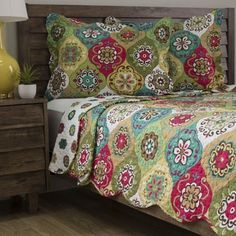 Shop for Slumber Shop Lena 3-piece Reversible Quilt Set. Free Shipping on orders over $45 at Overstock.com - Your Online Fashion Bedding Outlet Store! Get 5% in rewards with Club O!