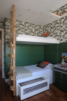 Ideias para aproveitar o espaço embaixo da cama: gaveteiro