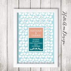 Custom Quote Print Wedding Vows Weddings Guest Book Inspirational Quotes Watercolour Pinterest A