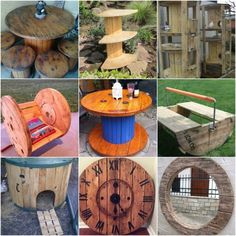 There are various ways that you can repurpose empty wire spools. You simply need to look at the projects that are available and decide want you want to do.