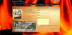 Web El Rincón del Almanzor - Contacto #diseñoweb #paginasweb #DiseñadorWebValencia #DiseñadorWeb